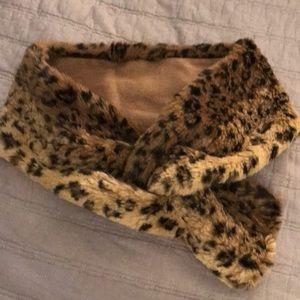 Betsey Johnson Leopard Wrap